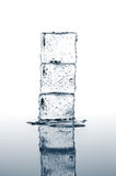 Ice cubes stacked Royalty Free Stock Image