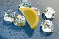 Ice cubes to drink Royalty Free Stock Images