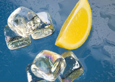 Ice cubes to drink Royalty Free Stock Photo