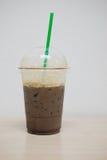 Ice dark mocha coffee Royalty Free Stock Photos