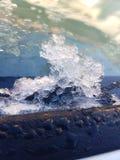 Ice defrosting stock photo