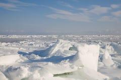 Ice desert Royalty Free Stock Photography
