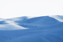 Ice desert in blue Royalty Free Stock Image
