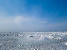 Ice desert Royalty Free Stock Image