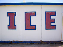 Ice in the desert Stock Images