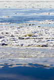 Ice Drift Royalty Free Stock Images