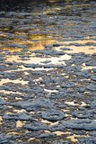 Ice drifting on the river Royalty Free Stock Photography