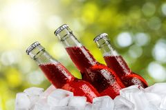 Ice Drinks Royalty Free Stock Images