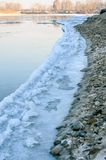 Ice edge. Royalty Free Stock Images