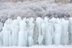 Ice fall Royalty Free Stock Images