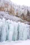 Ice fall Royalty Free Stock Image