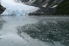 Ice fall from glacier, Stock Photos