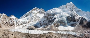 Ice-fall khumbu Royalty Free Stock Photography