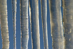 Ice fence Stock Images