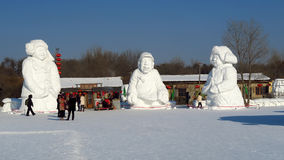 Ice Festival in Harbin, China Royalty Free Stock Photos