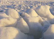 Ice field. Stock Photos