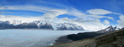 Ice fields, glaciar of Patagonia Stock Photography