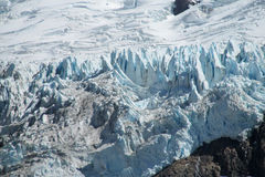 Ice fields of Patagonia stock photography