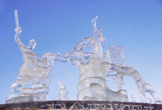 Ice figures Stock Photo