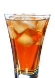 Ice filled soft drink Royalty Free Stock Image