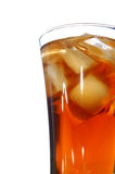 Ice filled soft drink Royalty Free Stock Photos