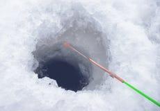 Ice fishing Stock Images