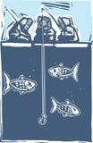 Ice Fishing Inuit Royalty Free Stock Image