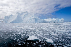 Ice fjord Stock Photography