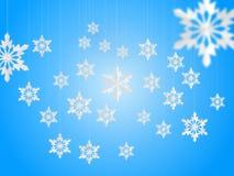 Ice Flakes Stock Photos