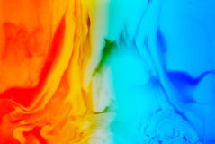 Ice and flame background Royalty Free Stock Photography