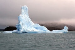Ice floe. From Upsala glacier on the lake Argentino Stock Photo