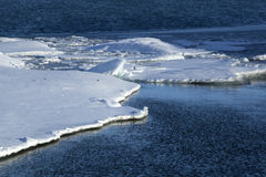 Ice floes at glacier lagoon Jokulsarlon, Iceland Stock Photography