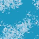 Ice flowers illustration screen. Background Stock Image