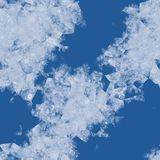 Ice flowers illustration screen. Background Royalty Free Stock Photography