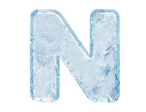 Ice font Stock Photos