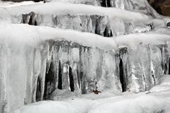 Ice Formation Royalty Free Stock Photography
