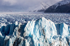 Ice formation in the Perito Moreno National Park Royalty Free Stock Image