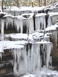 Ice formations Royalty Free Stock Photos
