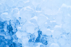 Ice formations Stock Images