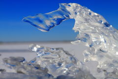 Ice fragment Stock Photos