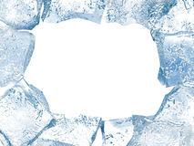 Ice frame royalty free illustration