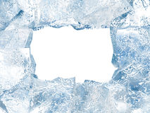 Ice frame Stock Photo