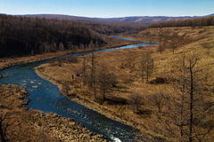 Ice-free ποταμός Στοκ εικόνες με δικαίωμα ελεύθερης χρήσης