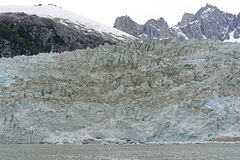 Ice Front of a Tidal Glacier Royalty Free Stock Images