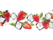 Ice fruit Royalty Free Stock Photography