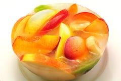 Ice Fruits Bowl Stock Photos