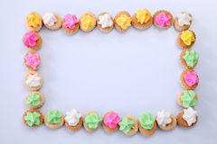 Ice gem biscuits Royalty Free Stock Photos