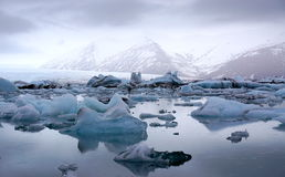 Ice glaciers Stock Images