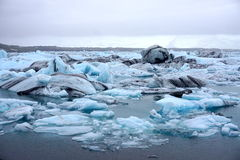 Ice glaciers Stock Photography