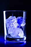 Ice in glass Royalty Free Stock Photo